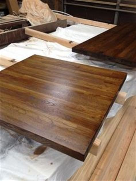 Butcher Block Countertops Michigan by Hickory Farm Table Side Left Reclaimed Wood Michigan