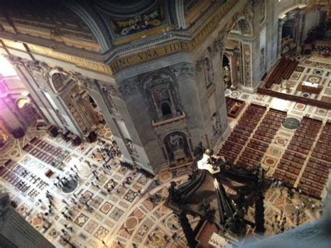 cupola san pietro visita salire a piedi sulla cupola della basilica di san pietro