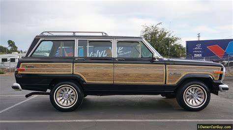 jeep wagoneer interior jeep grand wagoneer sj fsj interior 4x4 luxury limited suv