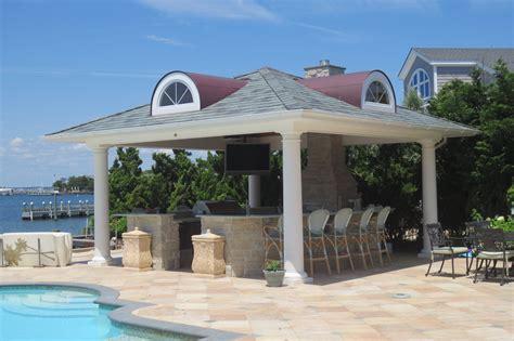 pavillon pool outdoor pool pavilions custom vinyl timber frame pa