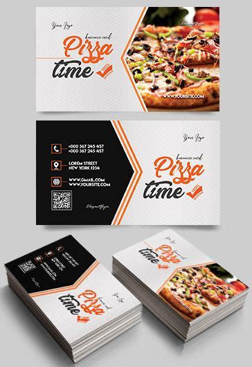 food business card templates psd fast food free psd tri fold psd brochure template by