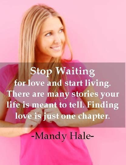 The single woman mandy hale online myers