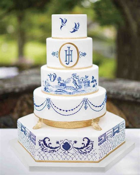 Wedding Cake Patterns by 29 Wedding Cakes With Vintage Vibes Martha Stewart Weddings