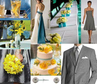 aqua yellow and gray on