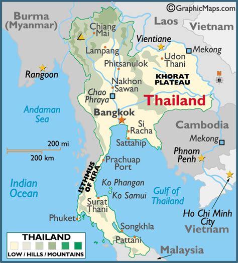 printable map thailand toursimthailand thailand 2014