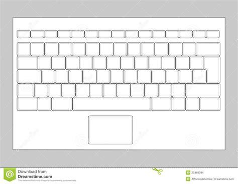 button layout en español teclado portatil stock images image 23466394