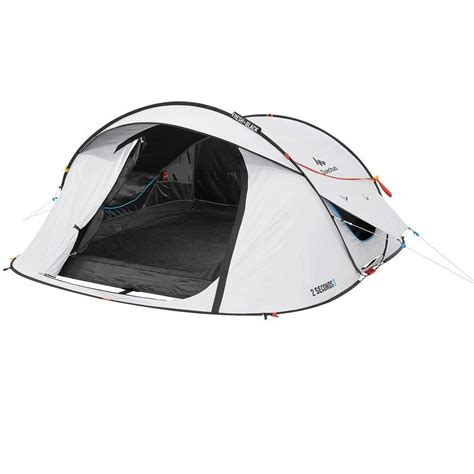 tenda 2 seconds easy 3 fresh black 3 posti quechua