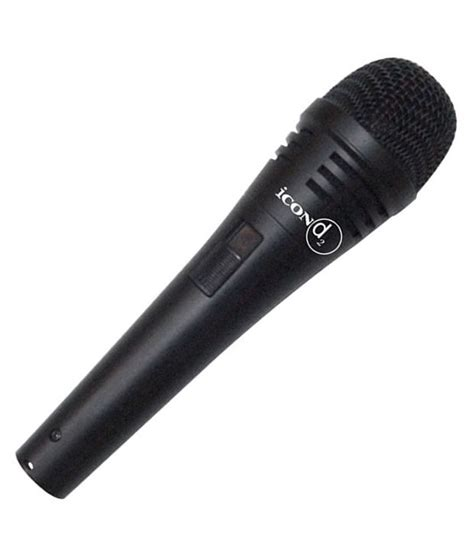 Icon D2 Dynamic Microphone icon d2 dynamic instrument vocals microphone buy icon d2 dynamic instrument vocals