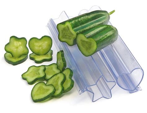Furniture Kitchen Tables heart and star vegetable and fruit molds the green head