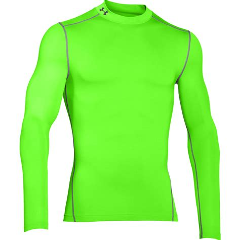 Baselayer Armour 2 armour 2017 mens coldgear armour compression mock thermal ua base layer ebay
