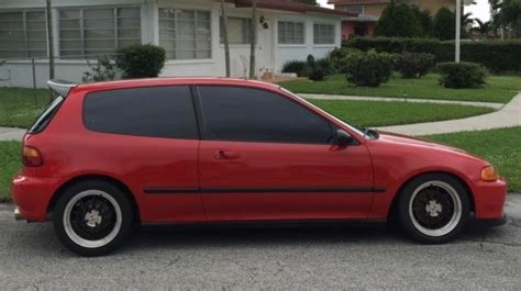 Cost To Paint Home Interior 1993 honda civic hatchback in exc cond classic honda