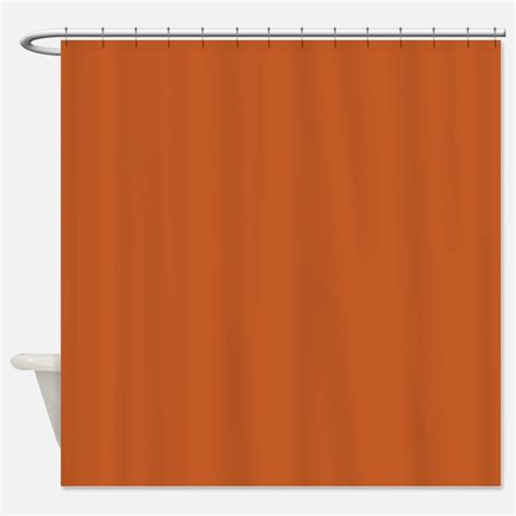 orange shower curtain burnt orange shower curtains burnt orange fabric shower