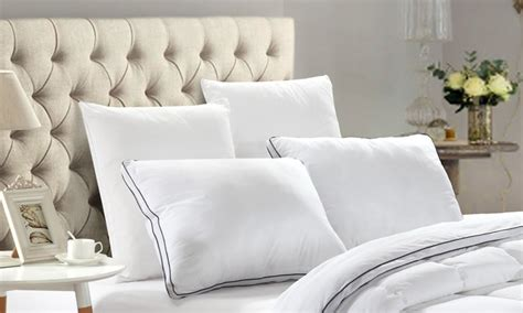 micro gel pillow new season tex inc deal of the day groupon