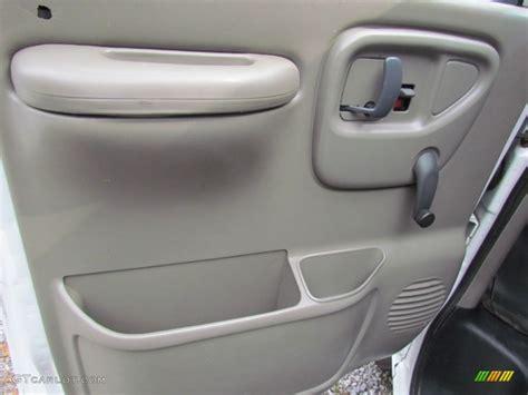 Gmc Door Panel 1999 gmc savana g3500 cargo pewter door panel photo