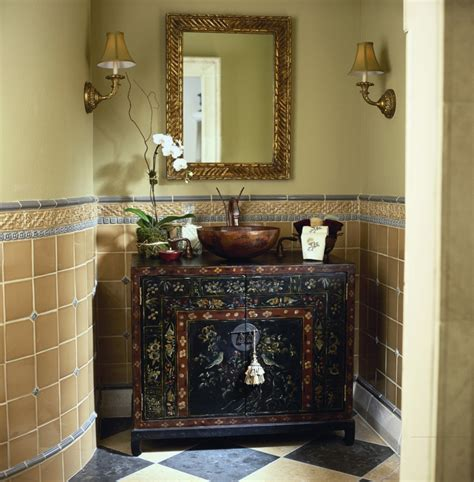 lavabos r250sticos ideas para cada tipo de ba241o