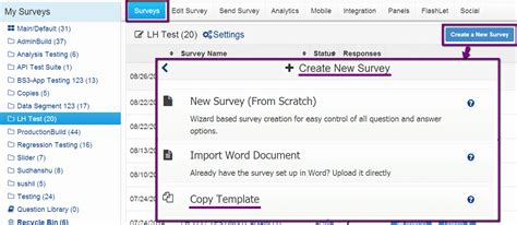 Surveyanalytics Features Software Survey Template