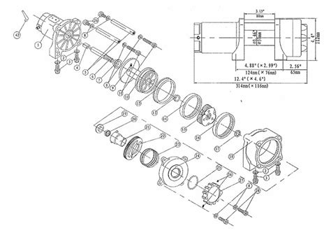 powerwinch solenoid wiring diagram wiring diagram