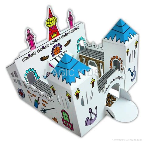 Folding Paper Toys - paper folding toys kits pirate ship 3d folding toys