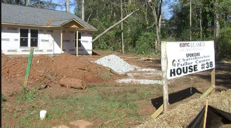fuller center for housing fuller center homes going up for families in need around the chattahoochee wltz