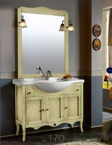 mobili in arte povera prezzi prezzo arredo bagno con specchiera in arte povera