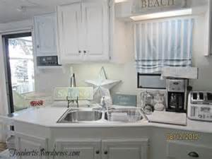 How To Decorate A Small Mobile Home Mobile Home Decorating Beach Style Makeover