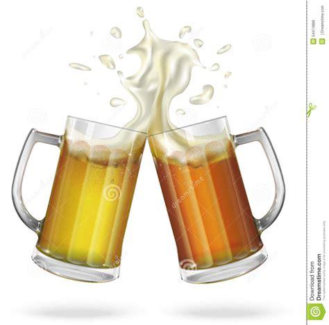 Cool Mug by Two Mugs With Ale Light Or Dark Beer Mug With Beer