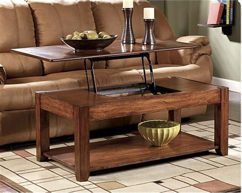 Coffee Table With Tv Tray Hide Your Remotes Controllers Inside Lift Top Coffee Tables