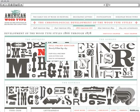 American Wood Type mr mule s typographic showroom and emporium ketchup mustard american wood type site