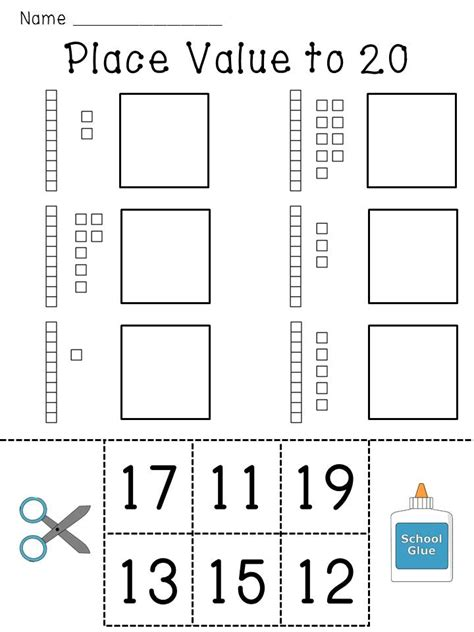 printable quiz on place value place value worksheets base 10 blocks numbers practice