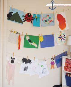 hanging artwork 1000 ideas about hanging kids artwork on pinterest