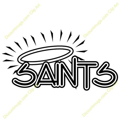 all free clipart free saints and halo clipart custom clip 14519