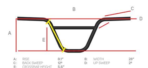 Stang Handle Bar High Rise Xforce informasi tentang ukuran tipe part