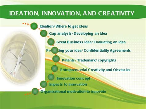 Mba In Innovation Vs Strategy by Ideation Innovation And Creativity