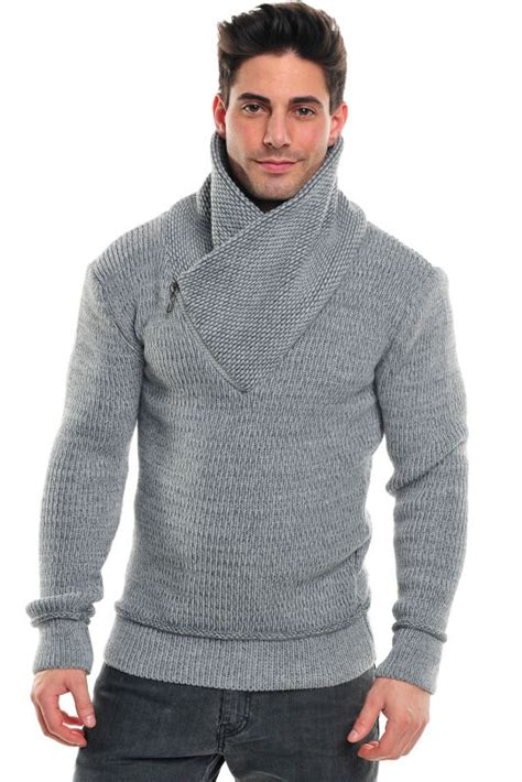 chompas tejidas a mano para hombres para hombre prendas de punto su 233 ter colores lisos