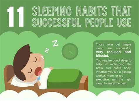 these are our sleep habits sciencenordic infographic 11 sleeping habits practiced by successful