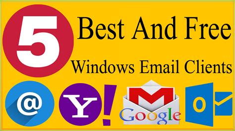 best desktop email client for gmail 5 best free and safe to use email clients for windows 10