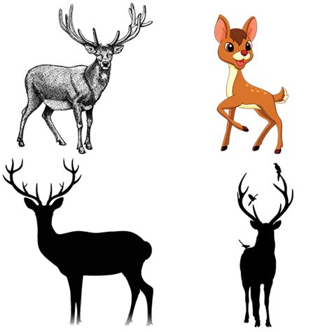Full Body Deer Tattoo   awesome deer tattoo design ideas that seem almost magical