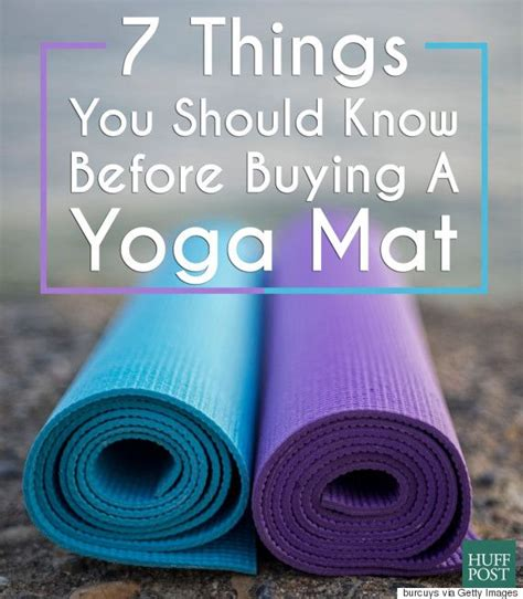 Where To Buy Mats by 7 Things You Should Before Buying A Mat