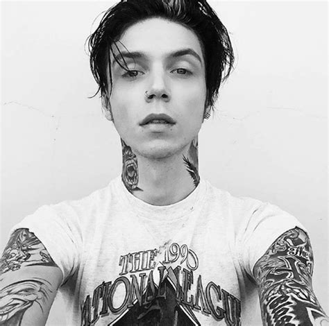 Andy Biersack Hairstyle by Andy On Quot Andy Biersack Hairstyle 2016 Beginning