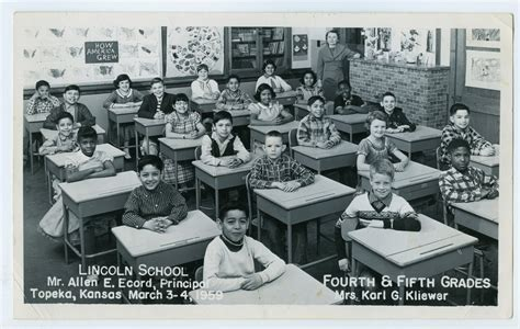 classes lincoln fourth and fifth grade classes at lincoln school topeka