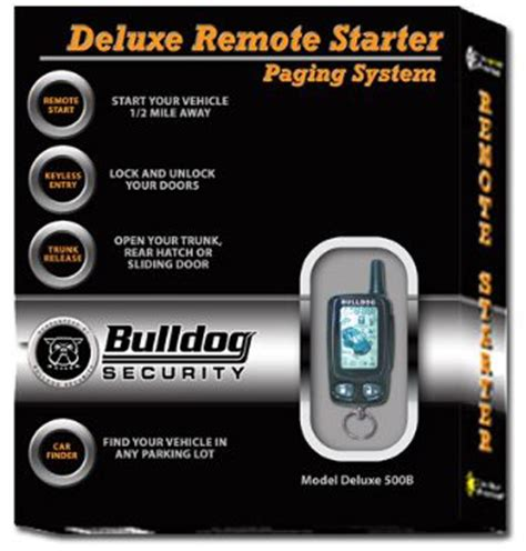 Alarm Mobil Bulldog bulldog security lcd deluxe remote starter keyless entry