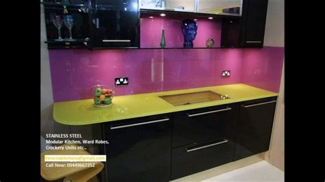 Venezia STAINLESS STEEL FINISH MODULAR KITCHEN BANGALORE