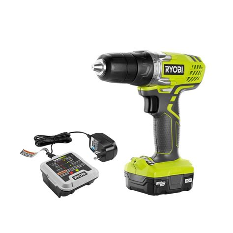 ryobi 12 volt cordless lithium ion drill driver kit hjp004