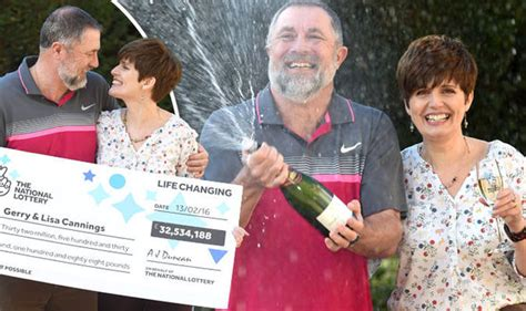 The National Lottery Instant Wins - couple who won 163 32million national lottery jackpot named
