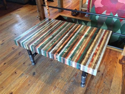 wood butcher block table butcher block out of pallet wood coffee table with