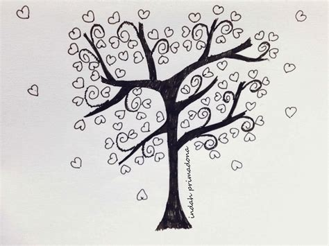 doodle pohon craftmee tree doodle