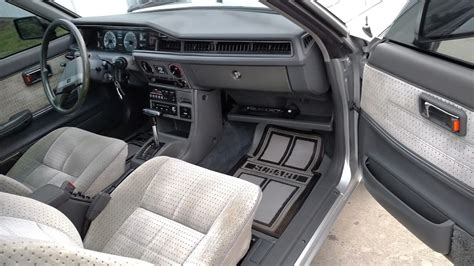 subaru leone interior a decade too late 1984 subaru gl 10 coupe