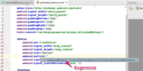 android studio onclick tutorial controles tutorial de botones en android