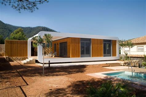 a plugged in prefab sustainable smart home ecobuilding
