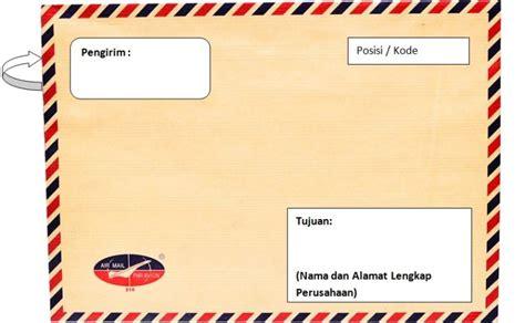 Penulisan Nama Yg Benar Di Map Coklat by 2 Cara Penulisan Alamat Surat Yang Benar Menurut Pos